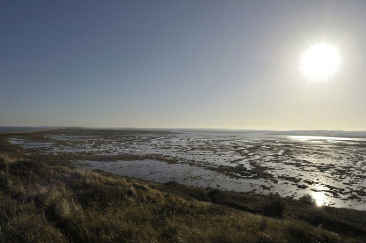 Hut Marsh at High tide