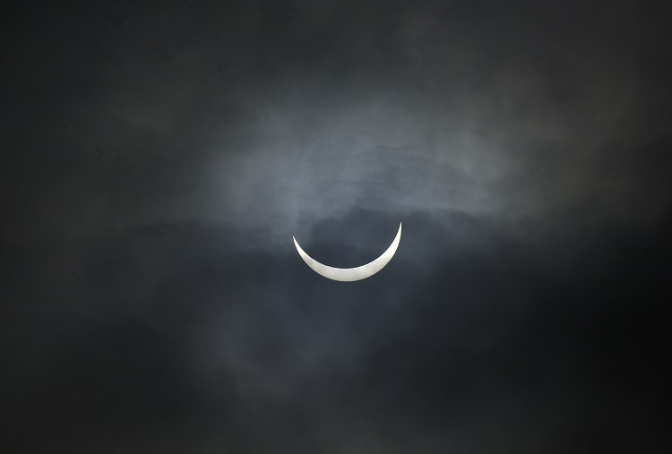 Partial Solar Eclipse from Scolt