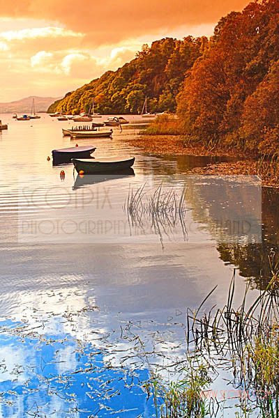 Autumn on Loch Lomond