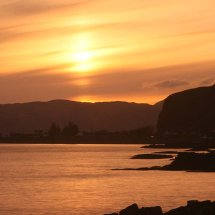 Sunset at Easdale