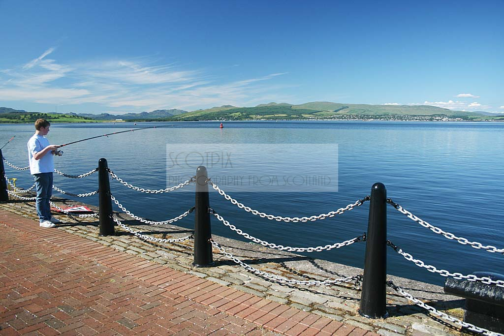Firth of Clyde at Greenock
