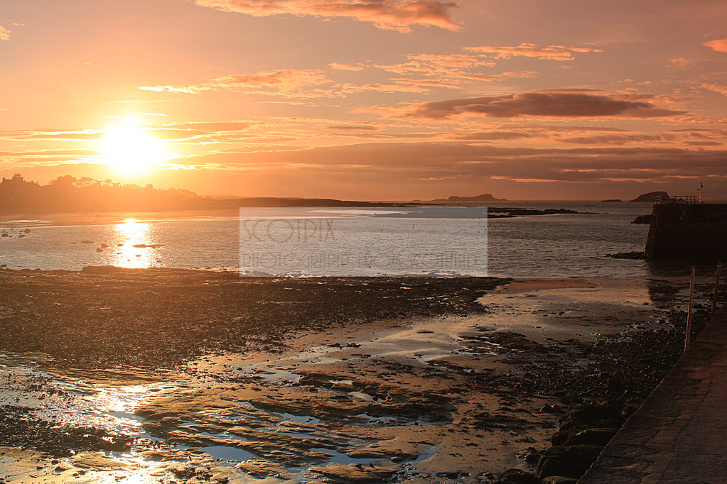 North Berwick sunset