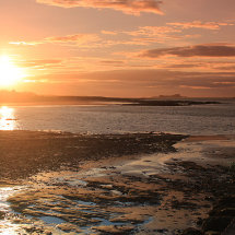 North Berwick sunset
