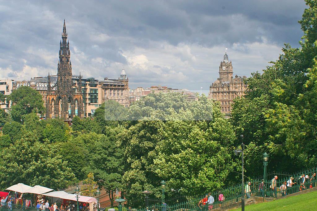 SCOTPIX - Photography from Scotland: Princes Street Gardens