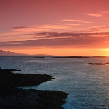 Small Isles Sunset