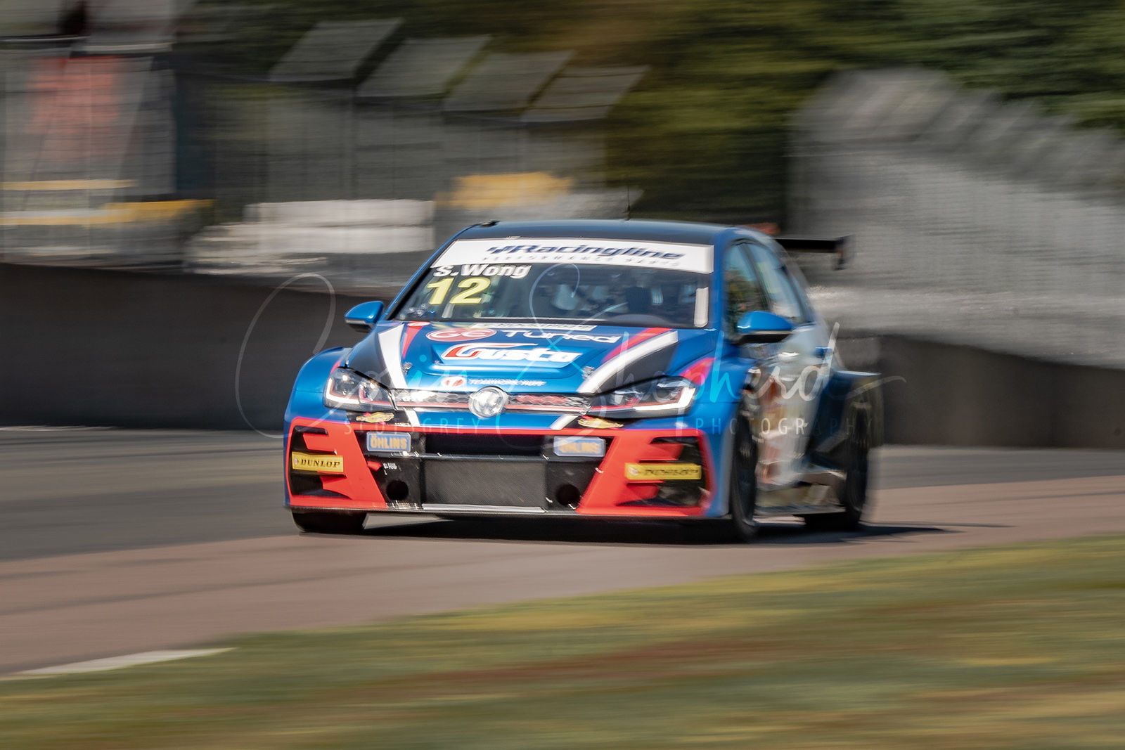 VW Golf GTI TCR - Sunny Wong - Teamwork Huff Motorsport