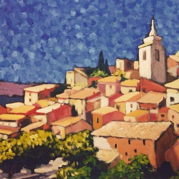 Roussillon (Oil on canvas) SOLD