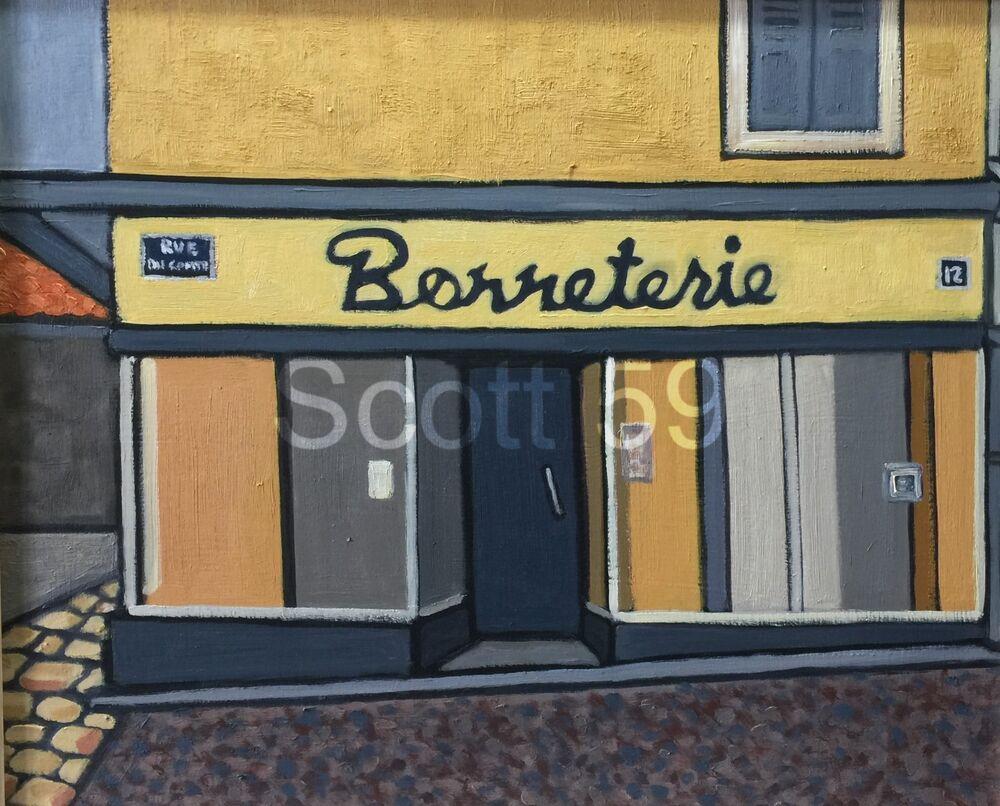 Bonneterie, Craponne sur Arzon (Oil on board, 61 x 51 cm)