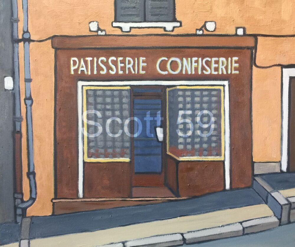 Patisserie, Allegre (Oil on board, 61 x 51cm)