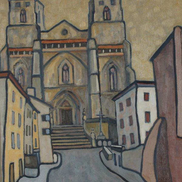 La Chaise Dieu #2 (Oil on board, 61x 51cm)