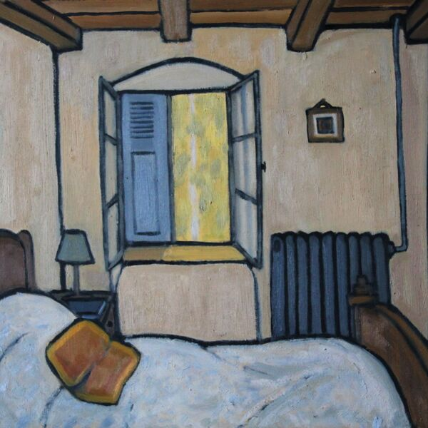 Convent - Chambre 4 (61 x 51cm, Oil on board)