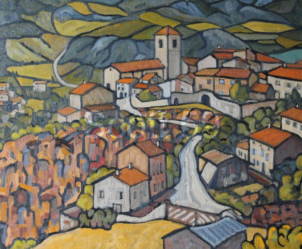 Chilhac (Oil on canvas, 60 x 73cm)