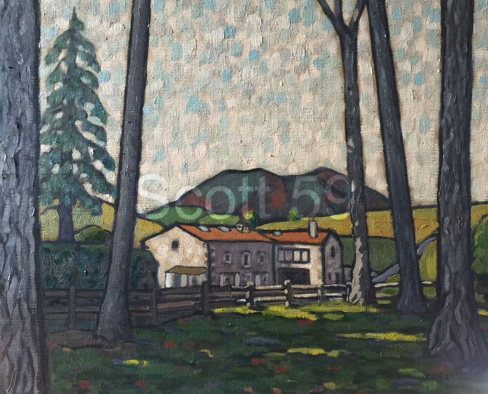 Moulin a Moulis (Oil on canvas SOLD)