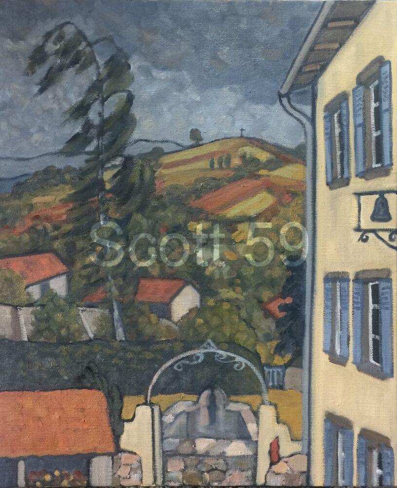 Vent du Sud (Oil on canvas, 65x54cm)
