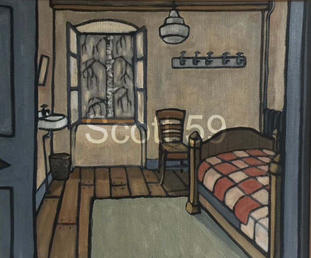 Chambre d'une soeur (Oil on canvas, 54 x 65cm)