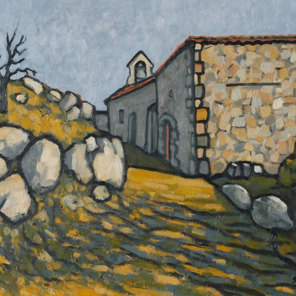 La Chapelle, Peyrusse (Oil on board, 51 x 61cm)