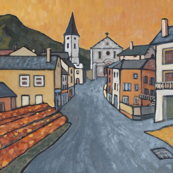 Saint Hostein (Oil on board, 61 x 51cm)