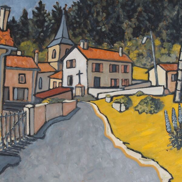 Varennes St-Honorat (Oil on board, 51 x 61cm)