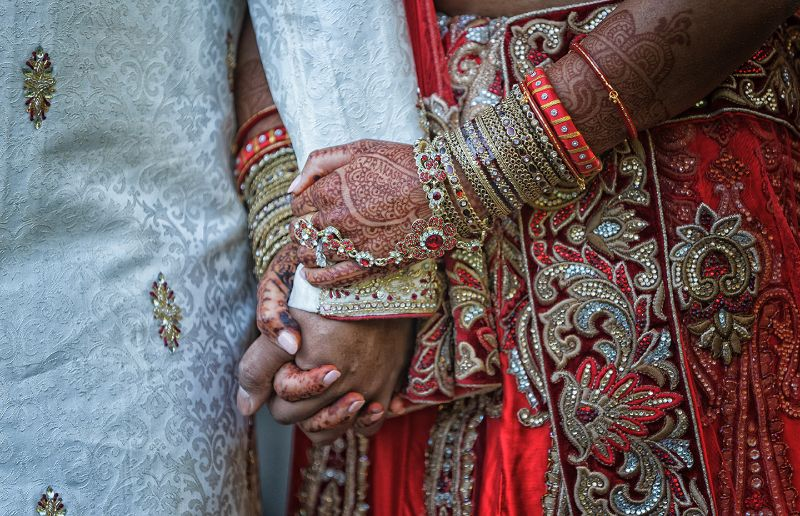 Holding Hands Hindu