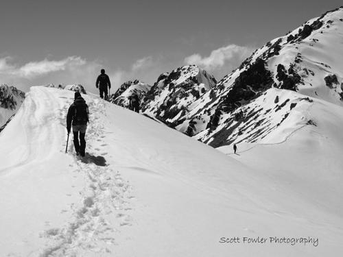 On the way to Mount Aitken Arthur's Pass