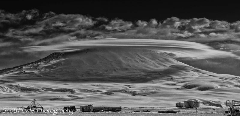 Strange clouds Erebus
