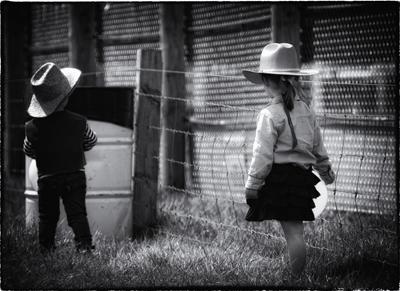 What you doin cowboy