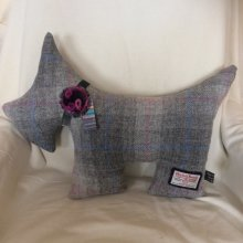 Grey Scottie Dog Cushion
