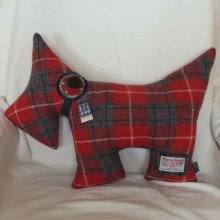 Red Scottie Dog Cushion