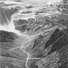 Mountain Storm Print