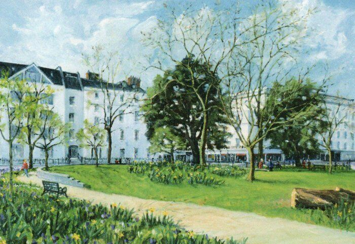 001-Christ Church Gardens (Leamington Spa)