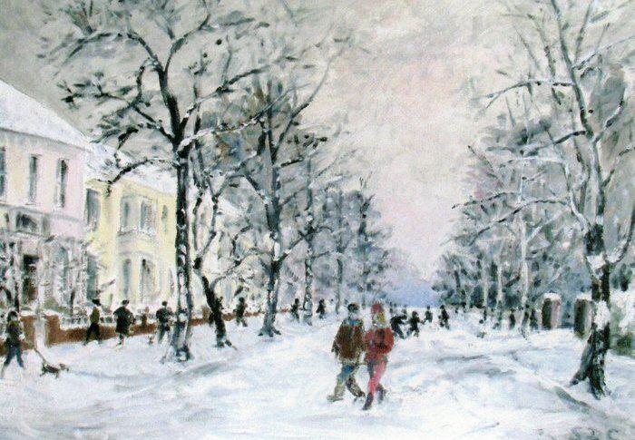 004-Snowy Avenue