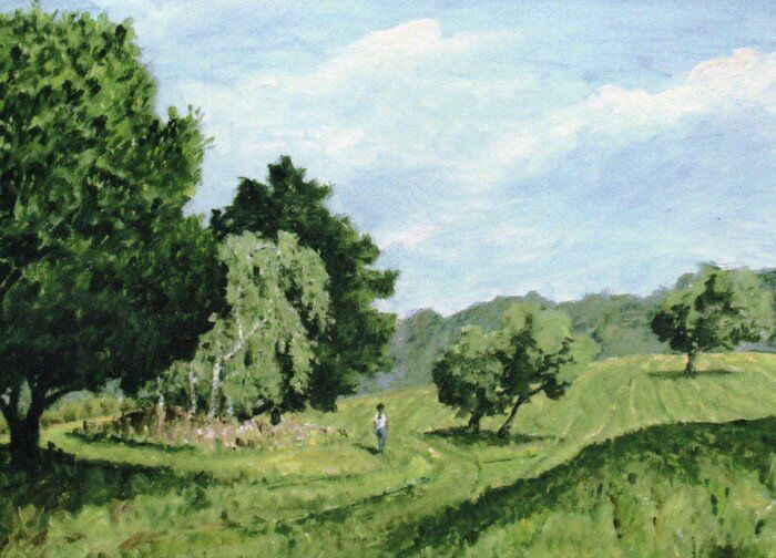 005-Sunny Day On Newbold Comyn