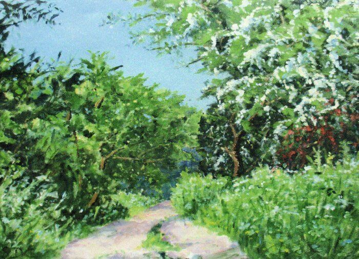 008-Path In Springtime (off Willes Road)