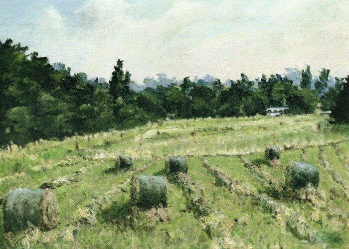 010-Hay Bales In Welches Meadow