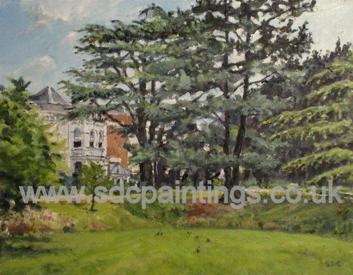 Jephson Gardens In Summer