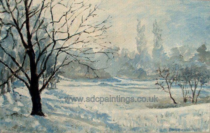 Newbold Comyn In The Snow