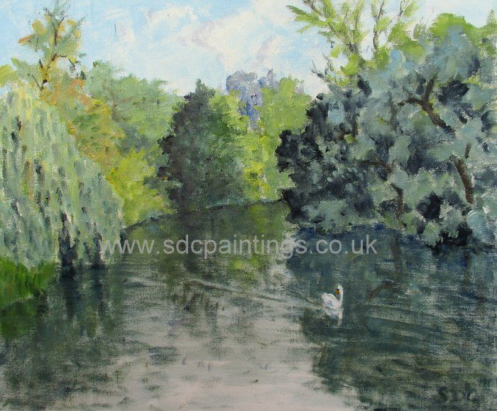 Tranquillity On The River Leam
