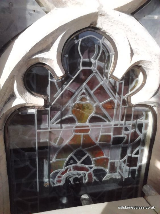 External protective glazing