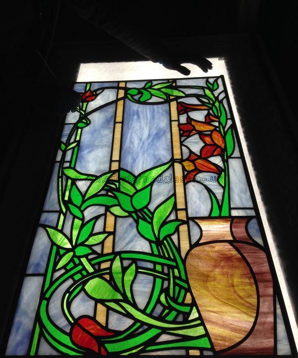 Gladioli panel
