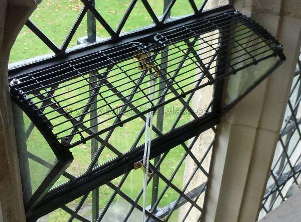 Church window opening ventilator