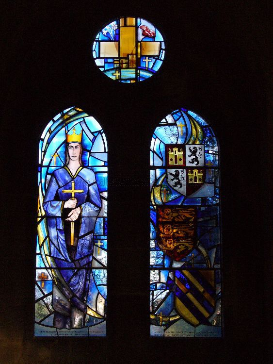 Queen Eleanor Window, All Saints Church, Harby, Nottinghamshire, 2007