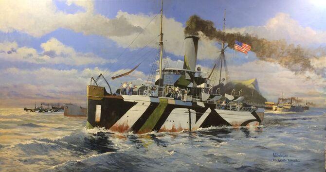 WW1 US Warships US Coast Guard vessels