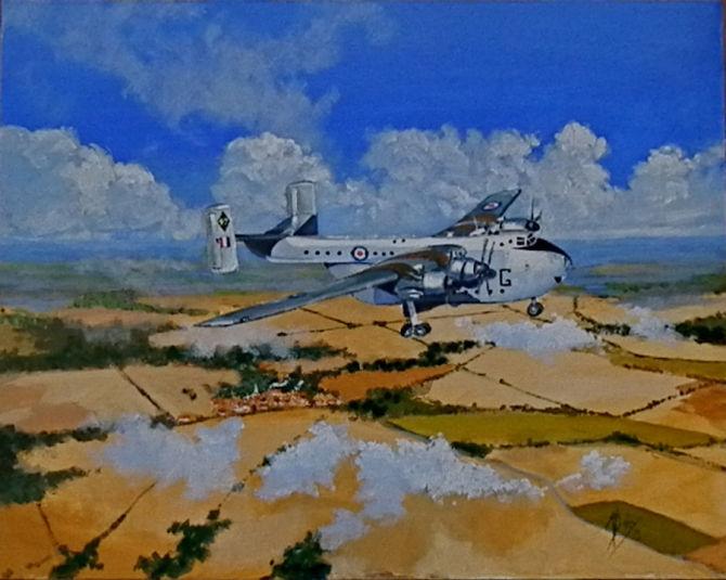 SOLD   Blackburn Beverly No 47 Squadron