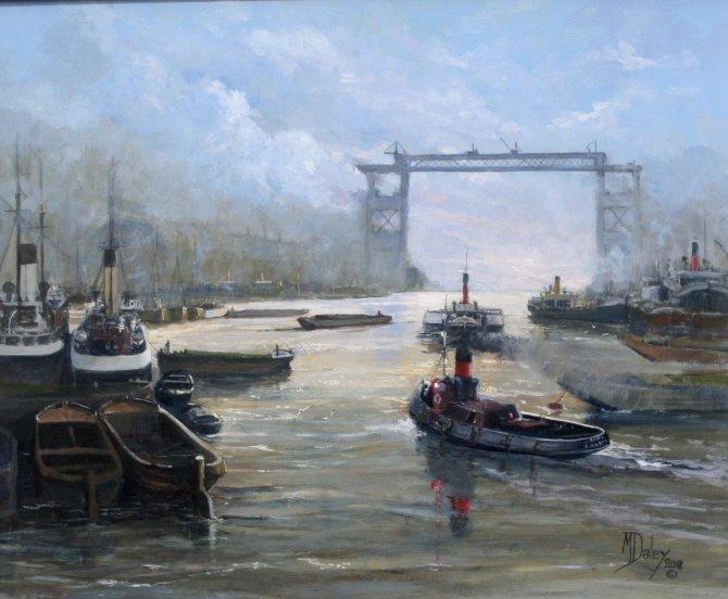 Raising Tower Bridge