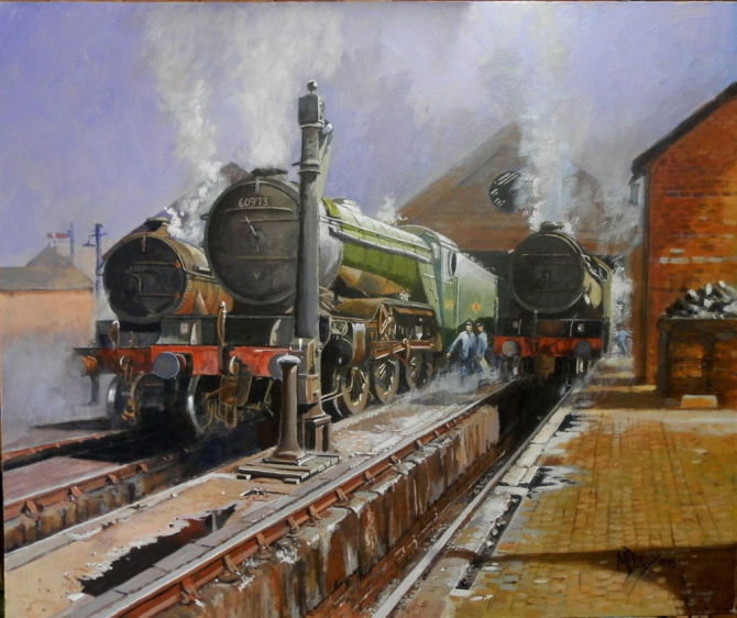 Raising Steam - at Cotswold Galleries Stow on the Wold