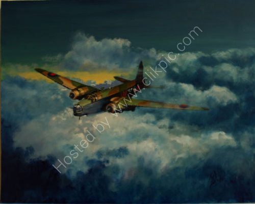 SOLD  Wellington Mk IV 460 Sqn