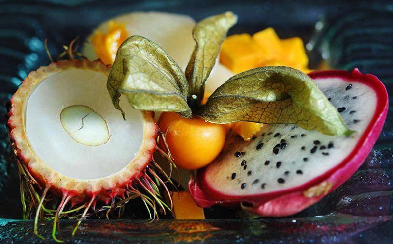 Asian pear & fruit.