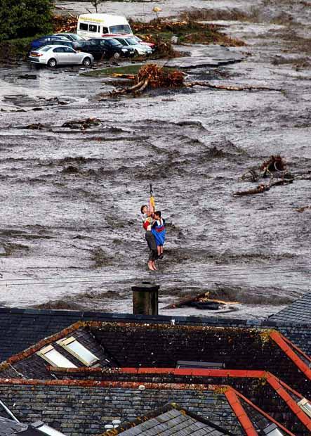 Boscastle flash flood