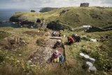 English Heritage - Not-So-Dark Ages Revealed at King Arthur Site.