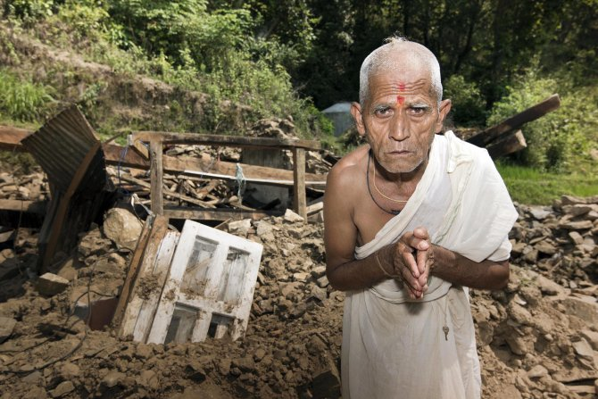 Nepal earthquake/ShelterBox